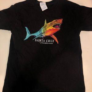 Santa Cruz, California souvenir t shirt: youth m